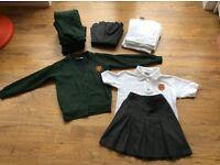 Bundle of school uniform for 'St Elizabeth's Primary School, Tamworth' - free to anyone who wants it