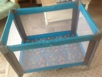 Travel cot free to good home