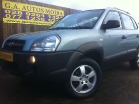2007 HYUNDAI TUCSON CRDI SIX SPEED . (. CHOICE OF 2 ) EXCELLENT EXAMPLES !!!!