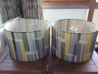 2 lamp shades from John Lewis - will sell separately