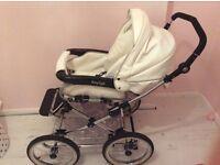 Baby pram buggie 3in 1 babystyle prestige