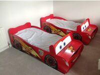 """Children's themed bed """"Lightning McQueen- cars 95"""""""