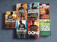 Books - James Patterson featuring Michael Bennett
