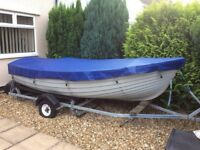 Reproduction motor launch / boat project 80% completed