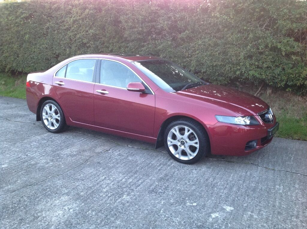 2004 Honda Accord Ex 2 2 Ctdi With Leather Interior In