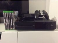 Xbox One + Kinect + controller + Games