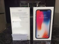 Apple iPhone X 256 Space Grey(Brand New & Sealed)