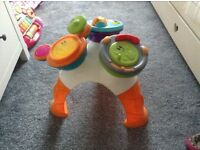 Toddlers music table