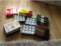 6 Boxes of 12 unused golf balls - altogether 72 balls