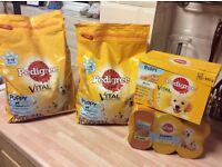 Puppy food bundle brand new sealed