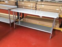 Stainless steel work table 61cm/2ft - In Box