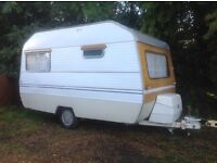 Retro vintage Sprite Caravan Project Spares or Repair