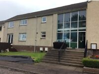 2 bed part furnished flat to rent in Newtongrange, Dalkeith.