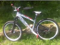 24Seven custom pro mountain bike/bicycle/street/dirt jumper 24 seven for sale