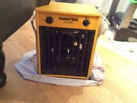 2 x Fan Heater for sale