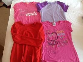 Girls bundle of clothes age 8 to 9