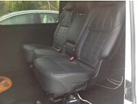 Vw t5 rear leather seat and belts