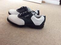 Pair of ladies Footjoy golf shoes worn just once.