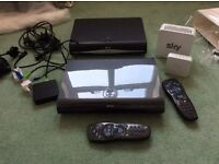 Sky HD boxes, one 2gb, one 500 mb plus extras