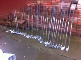 35 golf clubs £35
