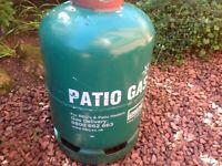 Calor Patio gas bottle 13 kg almost full
