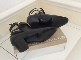 Kurt Geiger ankle boots size 7 & Gabor shoe boots size 7