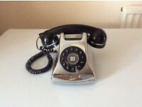 Art Deco chrome telephone