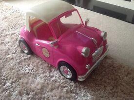 Our Generation dolls retro car