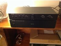 Rotel stereo control and power amp