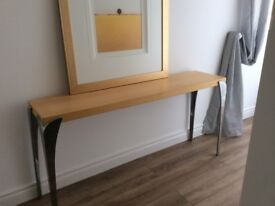 Console table - bought from Deco interiors Belfast