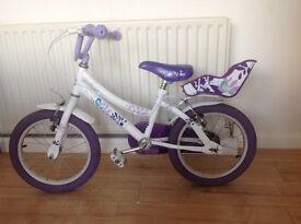 Girl's Raleigh songbird bike