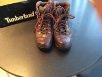 Ladies Timberland leather walking boots
