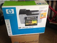 NEW HP OFFICEJET 5610 PRINTER FAX SCANNER COPIER ALL IN ONE