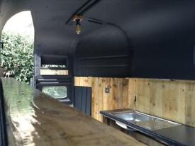 Vintage RICE horsebox conversion