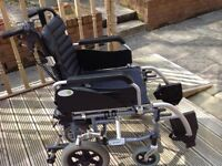 Wheelchair. With power pack.