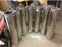 stainless steel flue sections insulated