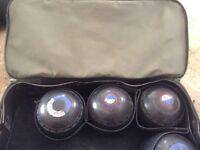 Almark club master bowls and bag