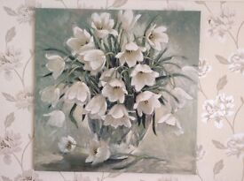 Canvas print of tulips by recognised artist