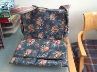Cath Kidston baby bag and changing mat