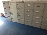 Metal filing cabinets 4 drawer 13 off