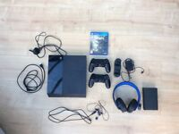 Playstation 4 Bundle 500gb Console with accessories