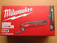 Brand New in box Milwaukee Multi Tool (battery Powered, included)