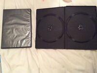 Black DVD cases