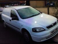 Vauxhall astra van 1.7 diesel, full history, 2003 , long mot