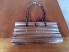 Bamboo handbag by East
