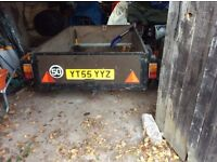 Single Axle 6 ft by 4 ft Trailer