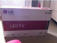 Brand new, unpacked, TV LG Led 32''