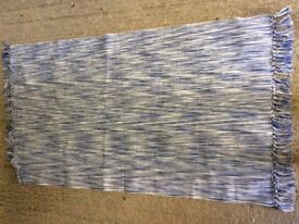 Blue Ikea rug