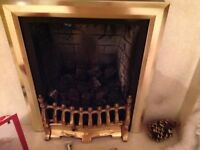 Gas Fire with Power Flue