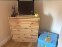 Complete furniture for 1 or 2 bed flat, less than 12 months old. Emigrating.